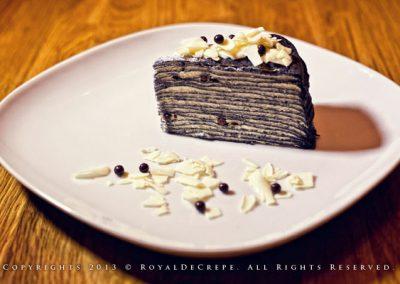 Hokkaido Chocolate Milk Crepe Cake