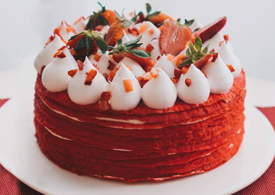 strawberry-crepe-cake